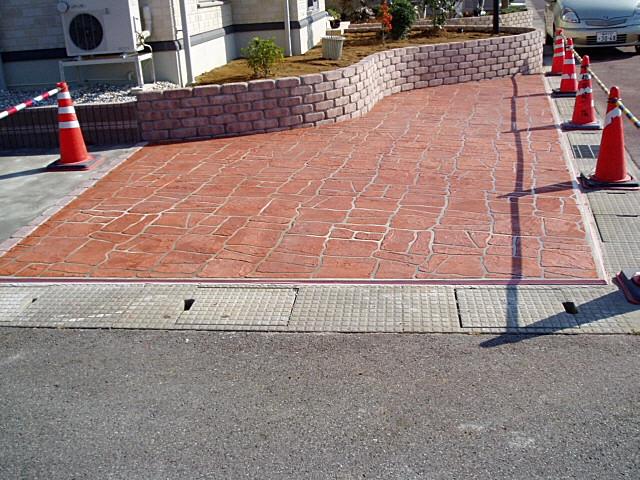駐車場リニューアル工事