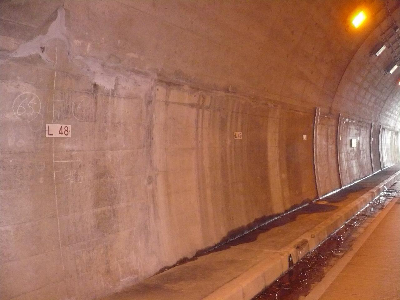 平成21年 世久見トンネル補修工事