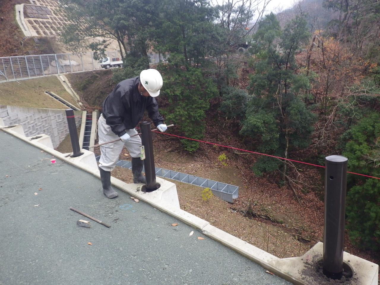 平成27年 ガードレール設置工事
