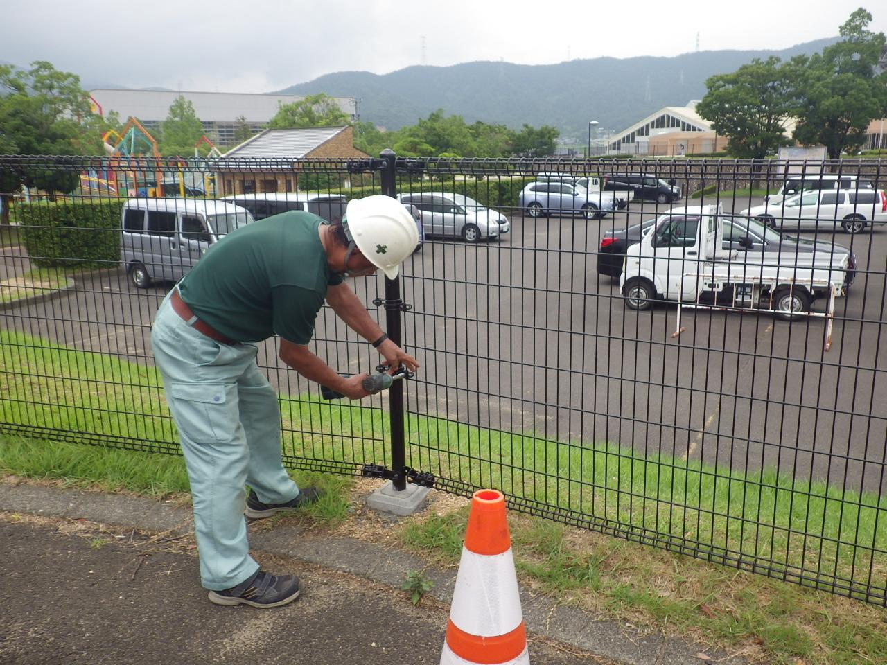 平成29年 フェンス改修工事