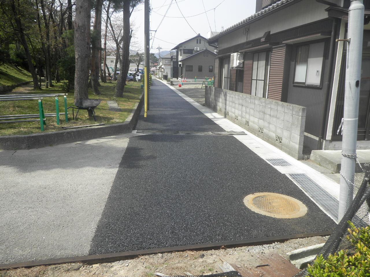 平成29年 道路側溝新設工事