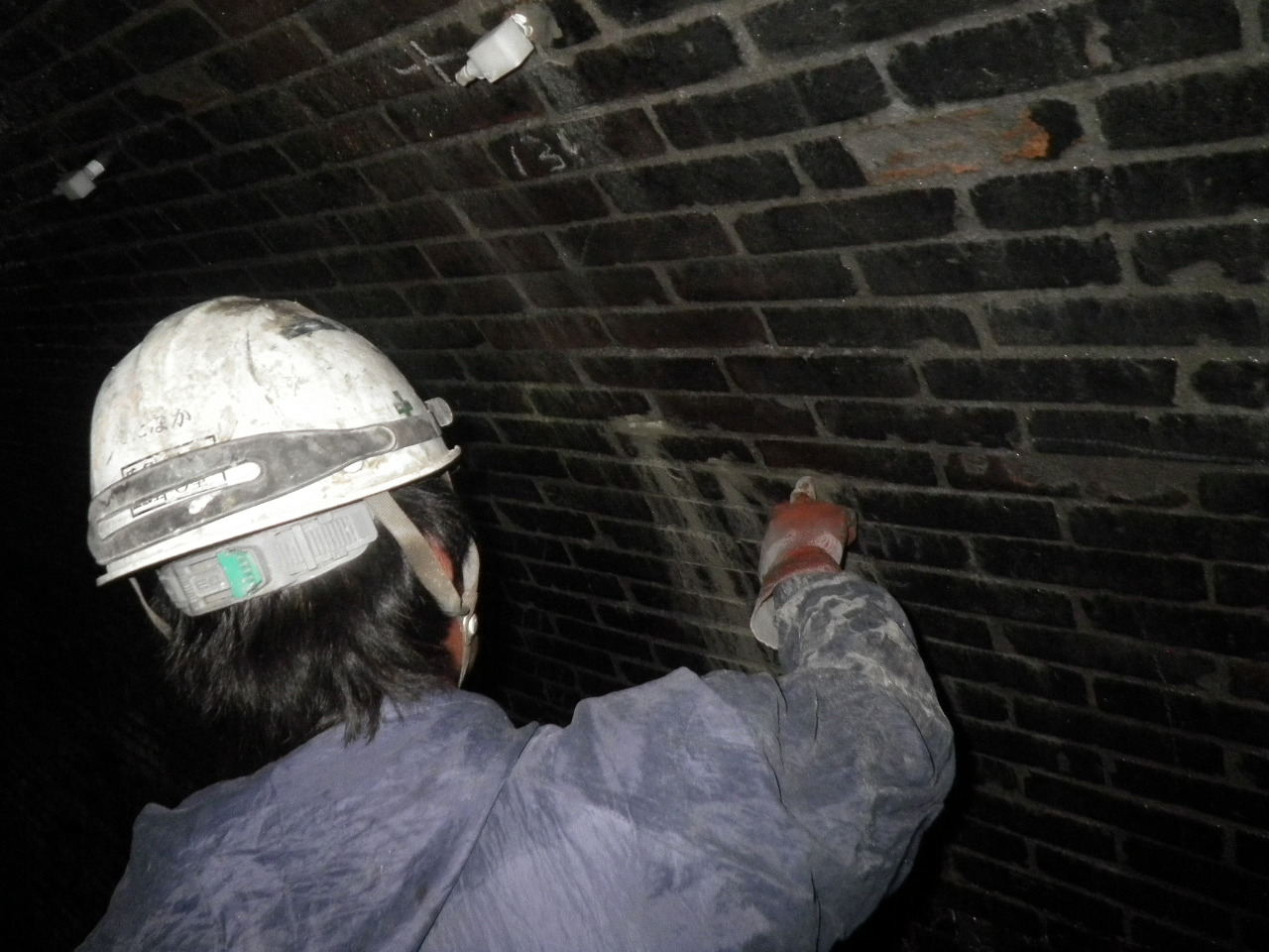 平成28年 山中トンネル補修工事