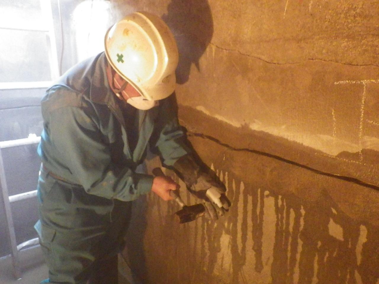 平成28年 防火水槽補修工事