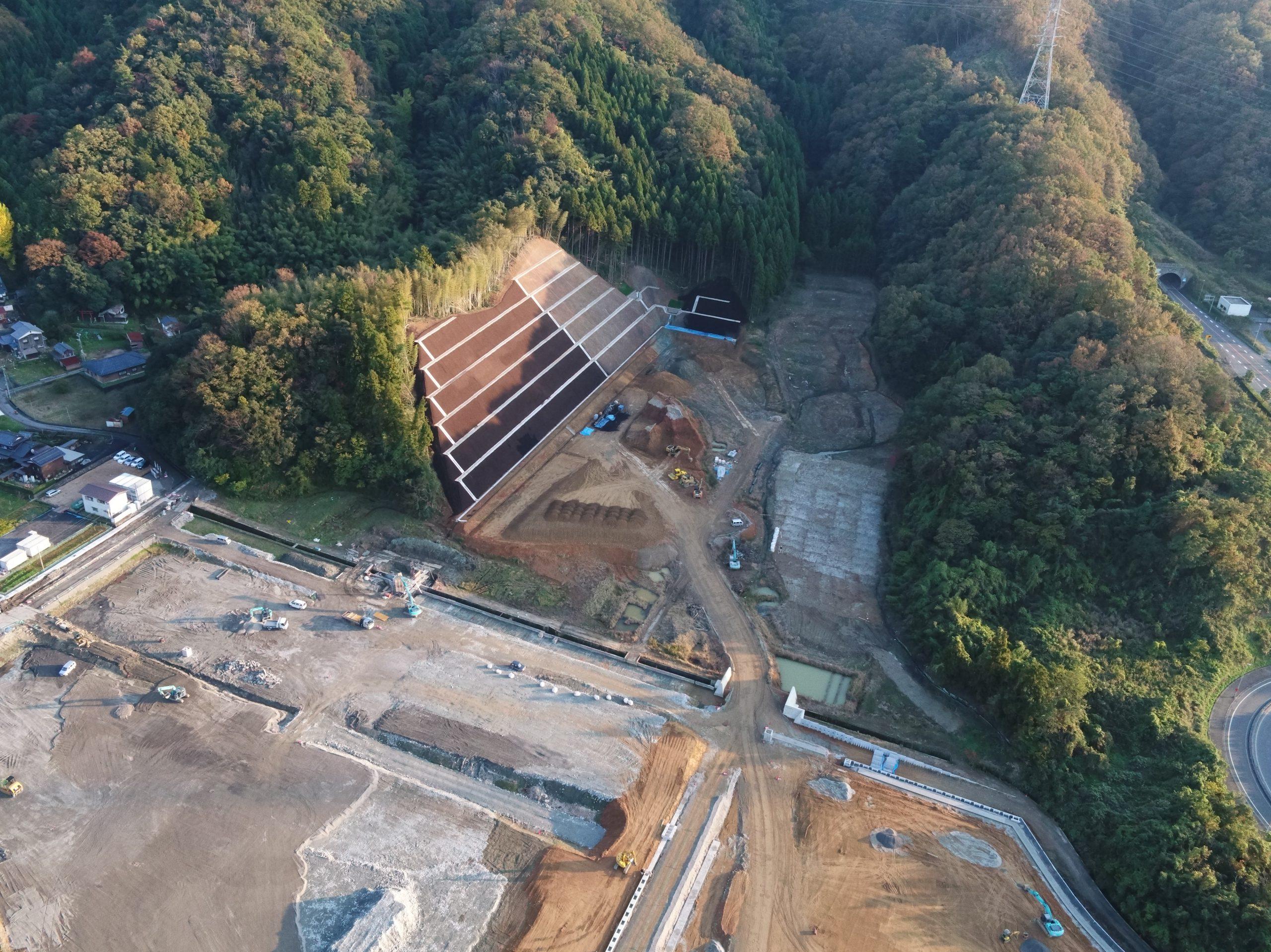 令和元年 敦賀市第2産業団地整備工事