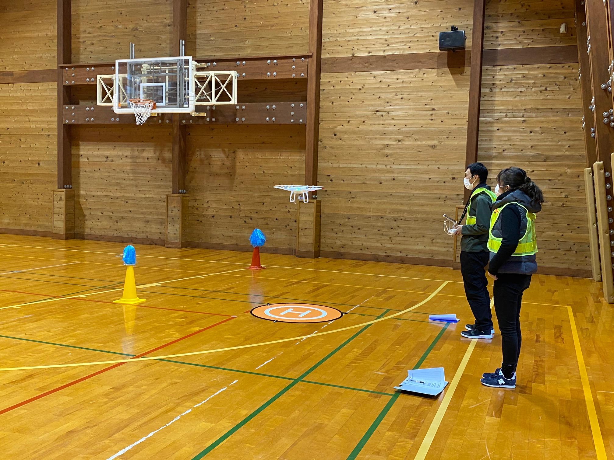 11月JUIDA無人航空機操縦技能実技講習