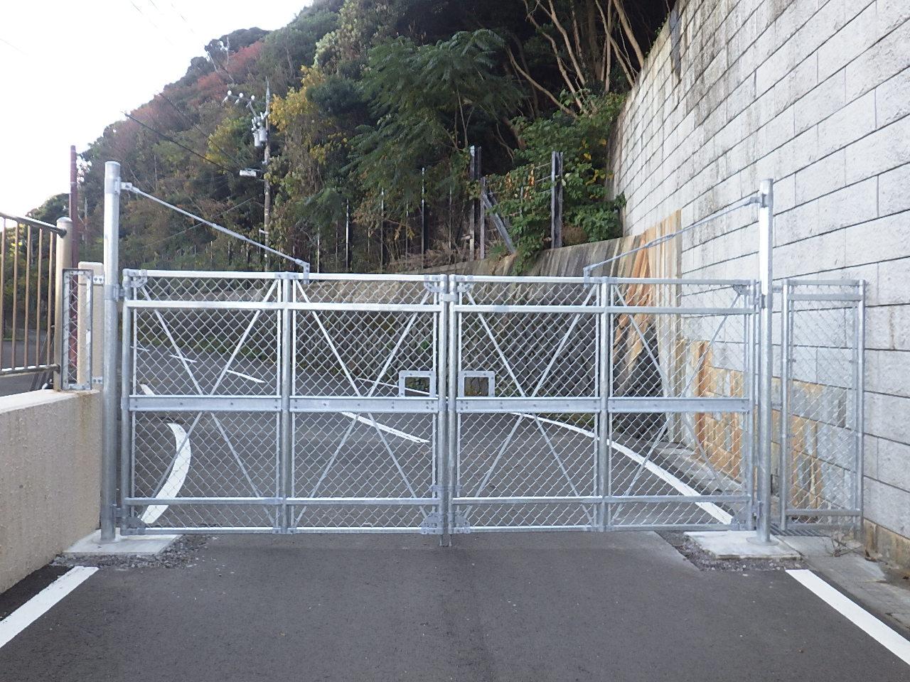 令和2年度 侵入防止柵工事